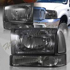 Voll Umwandlung Set 1999-2004 Ford F250 F350 Superduty Headlights Bumper Lampe