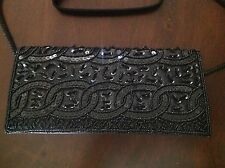 http: www.ebay.com/itm/Bijoux-Terner-black-Beaded-Clutch-Evening-Handbag