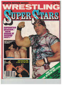 review Wrestling Mag NWA 1977 Superstar Graham Funk Backlun Andre AWA Race WWWF