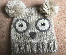 Owl Design Winter Hat From Next One Size New Never Worn