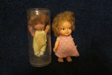 Two Vintage Small Dolls Eegee and Made in Hong Kong