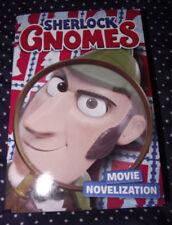 BRAND NEW Paperback Book Sherlock Gnomes Movie Novelization Chapter Book