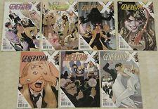 GENERATION X Vol 2 (2017) Set # 1 - 7 NM (Marvel Comics) !