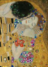 'Il Bacio (dettaglio) quadro - Stampa d''arte su tela telaio in legno'