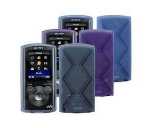 TPU Gel Protective Case Skin Cover for Sony Walkman NWZ E383 / E384 / E385 MP3