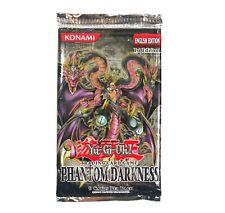 Yu Gi Oh Phantom Darkness Booster Pack English 1st Edition Konami Yugioh RARE