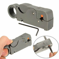 Rotary Coaxial Coax Aerial Sky TV Cable Wire Stripper Cutter Tool RG6 RG58 RG59