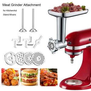 Meat Grinder Mincer Attachment Sausage Stuffer Parts For KitchenAid Stand Mixer
