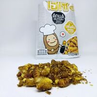 Hiso crispy silkworm Original Flavor High Protein Edible Insect Bug Snack 15g