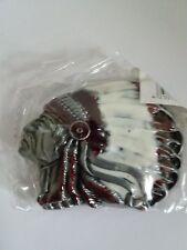 American Indian Head fibbia della cintura-BK 098 - 8.9cm x 6.4cm circa