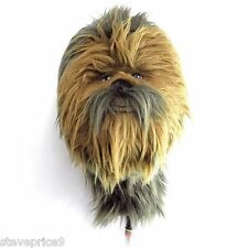NEW OFFICIAL STAR WARS CHEWBACCA GOLF PUTTER,  RESCUE OR HYBRID WOOD COVER.