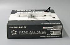 JC Wings 1:400 Air China Airbus A321-200 'Star Alliance' B-6383