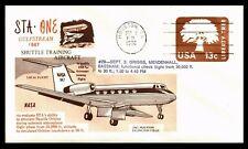 Gulfstream 947 Shuttle training Aircraft functional flight 3 .9 1976 USA  COVER