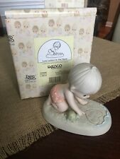 New ListingPrecious Moments Figurines� Love Letters In The Sand� No Chips Or Damage