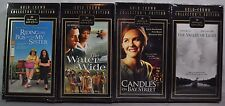 Set of 4 Hallmark Gold Crown VHS Riding The Bus With My Sister The Water Is Wide
