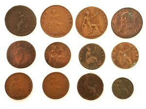 LOT 12 PIECES ROYAUME UNI  (1K348)