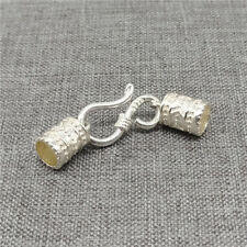 100 pcs Oxidized 925 Sterling Silver Crimp Beads 2mm Spacer F32Z