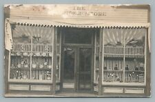 China Porcelain Store RPPC Storefront Display Antique Photo AZO 1910s