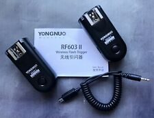 Yongnuo RF-603C II Wireless Remote Flash Trigger Receiver
