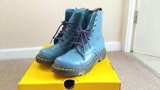 Genuine Dr Martens Women's 1460 PASCAL VIRGINIA, BLUE Boots UK Size 3 EU 36 US 5