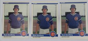 1983 Topps Ryne Sandberg RC #83 Chicago Cubs and more