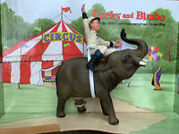 Vintage BREYER HORSE Corky & Bimbo The Circus Elephant 1950's TV  OOAK ❤️sj11h2s