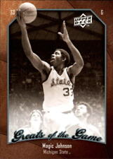 "Earvin ""Magic"" Johnson #39 Upper Deck 2009/10 NBA Basketball Card"