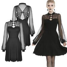 Dark en Love hermoso Gothic Jersey vestido con gran picos-Mariposa