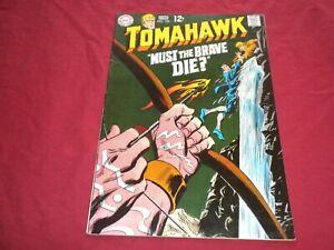 FA1 Tomahawk #122 dc 1969 silver age 5.5/6.0 comic!