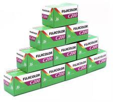 10 Rullini Fujifilm Fujicolor C200 Pellicola Fotografica