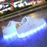 Children Glowing Casual Shoes Children Sneakers with Light Luminous Sneakers