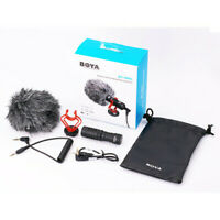 Boya BY-MM1 Cardioid Compact On-camera Microphone for DSLR, iPhone, Smartphone
