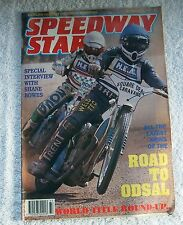 1990 SPEEDWAY STAR Magazine - 18 August, Gary Allan, Stoke & Poole Teams
