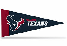"""New  NFL Houston Texans Mini Pennant  9""""x4""""(22 x 9 1/2 cm) Made in USA Banner"""