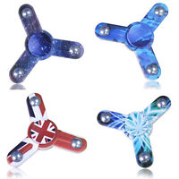Fidget Spinner Finger Hand Focus Spin EDC Bearing Relieve Stress ADHD Autism Toy