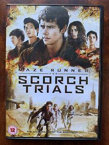 Maze Runner Scorch Trials DVD 2015 Sci-Fi Movie