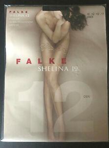 Falke Shelina 12 Lace Top, Stay-Up Stockings -- PREMIUM QUALITY