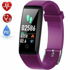 HETP Pulsera de Actividad Reloj Inteligente con Pulsómetro Presión Arterial GPS