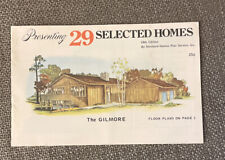 29 Selected Homes Floor Plans 18th Edition By standard homes plan service 1976