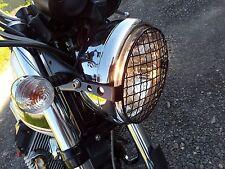 Griglia proteggi faro per Moto Guzzi V7 Head Lamp grill Stone Guard 1a  2a serie