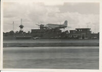 1945-6 USAAF airfield 5x7 Photo airplanes, tower location unknown