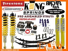 HOLDEN COLORADO RG (2012-ON) ARCHM4X4 2INCH 50mm SUSPENSION LIFT KIT +AIR ASSIST