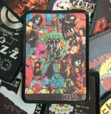 *KISS* patch,rare,rock,metal,sew,merch,band. Kill,monster,love,crazy,frehley,