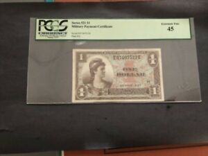 Military Payment Certificate Series 521 $1 Extremely Fine 45
