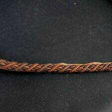 CS300 190 Chocolate Brown Lip Cord Fabric Trim