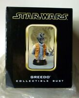 Star Wars Greedo Gentle Giant Bust Statue New from 2003 Factory Sealed