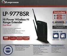 Wifi Smart Repeater LoopComm High Power  600 mw LP-9778SR Dual  Band