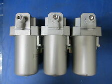 "LOT OF 3: SMC Pneumatics INA-11-492 AF 3/8"" Standard Airline Filter"