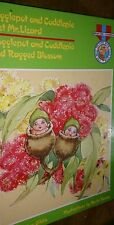 Snugglepot and Cuddlepie Meet Mr Lizard Find Ragged Blossom by May Gibbs
