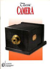 Classic Camera  N.63 Agosto 2007  rivista in italiano collezionismo fotografico